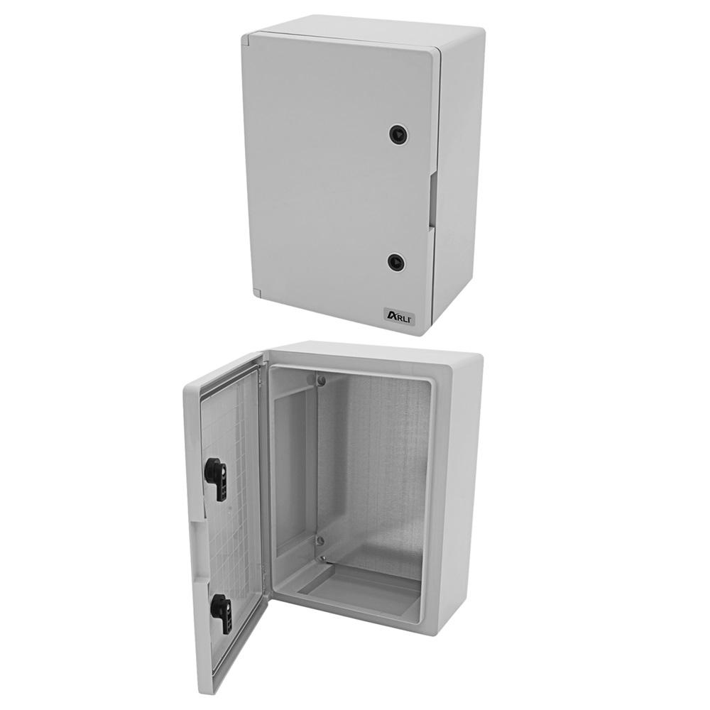 Schaltschrank IP 65 Kunststoff 50 x 70 x 25 cm Montageplatte 500 x 700 x 250 mm