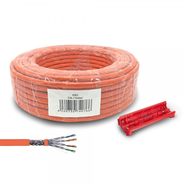 Cat7-Cat-7-Verlegekabel-Abisolierer-Netzwerkdose-Netzwerkkabel ...