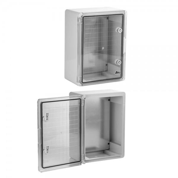 ARLI Kunststoff Schaltschrank IP65 mit Sichttür - 400 x 600 x 200 mm