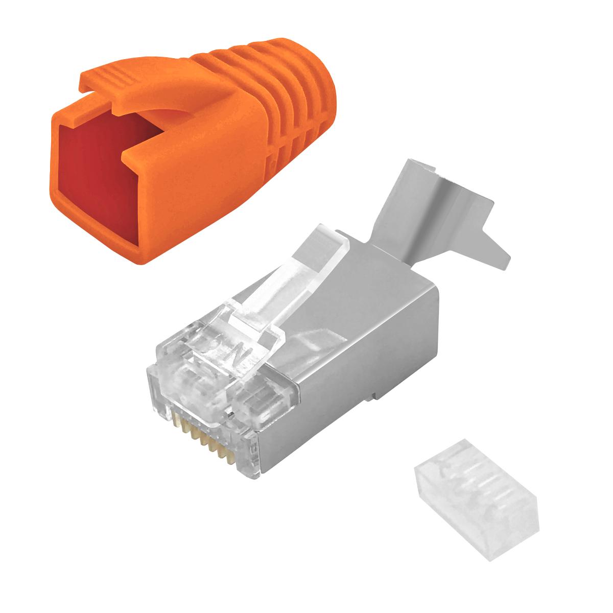 rj45 stecker arli netzwerkkabel lan kabel verbinder rj 45 kat cat 7