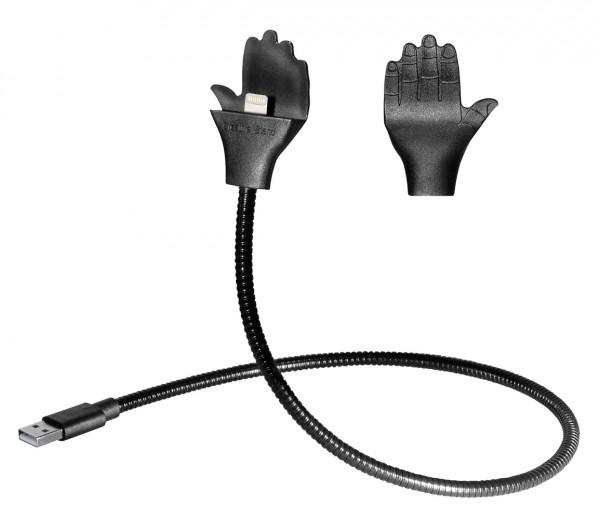 Flexible Hand-Halterung / Ladestation für iPhone Apple