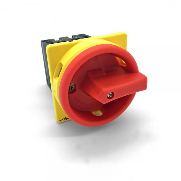 arli drehschalter hauptschalter haupt schalter 16a elektro 4pol 4-pol notschalter aus schaltschrank verteilerschrank schrank anlage maschinen maschinenschalter trenn trennschalter reparatur reparaturschalter Geräteschalter ip65 motorschalter strom